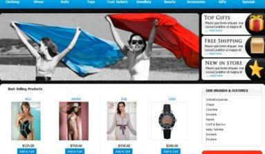 Women's Store Premium Template Review