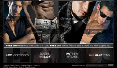 MensWear Theme Review- A Premium Magento theme for online apparel stores