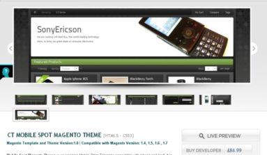 Mobile Spot Magento theme Review