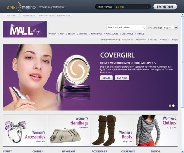 EM Mall Shop-Premium Magento Theme
