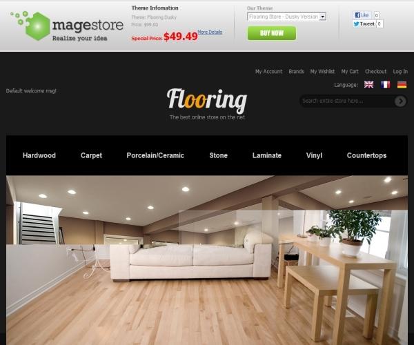 MageStore Flooring Dusky Magento Theme