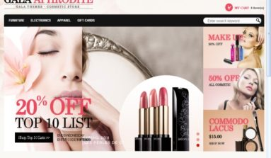 Gala Aphrodite Theme Review- A Premium Magento Theme for online Beauty and Cosmetic Store
