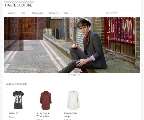 UnitThemes Haute Couture Magento Theme
