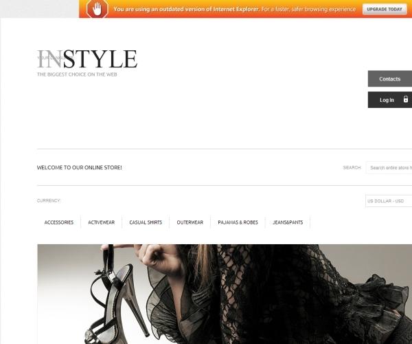 In Style Premium Magento Theme