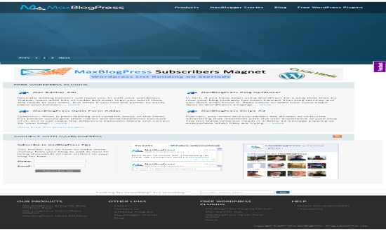 Max Blog Press Subscribers Magnet-Premium plug-in to increase your subscriber base