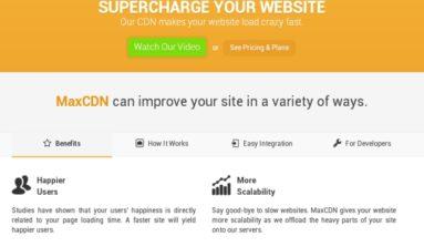 Max CDN Plugin Review- A Premium Plugin for faster site loading