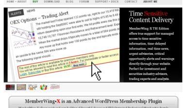 """""""Member Wing"""" Plugin Review- A Premium WordPress plug-in for membership sites"""