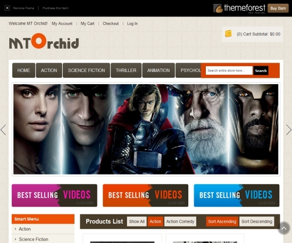 ThemForest MT Orchid Magento Theme