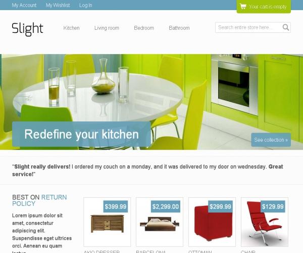 Slight-Premium Magento theme