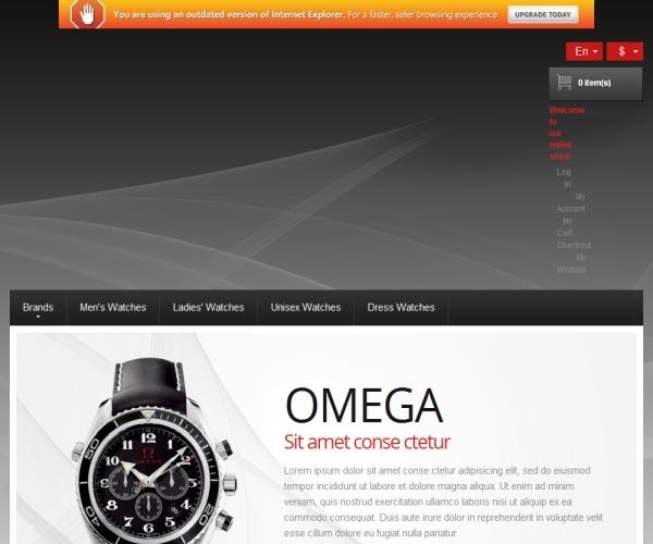 Watches Premium Magento Theme